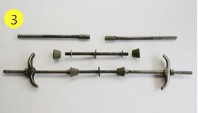 连接套筒在外杆型防水丝杆