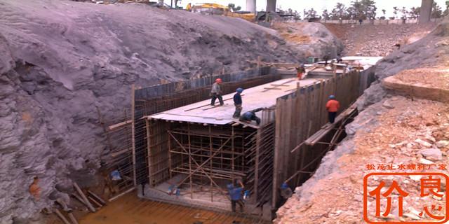 箱涵施工止水穿墙螺栓用法
