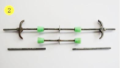 绿色锥体连接型止水丝杆