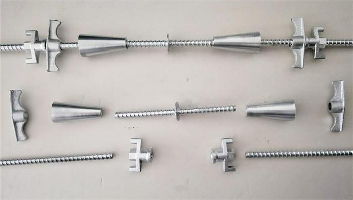 您对三段式止水螺杆有多少了解,知道使用止水螺杆省到哪了吗?