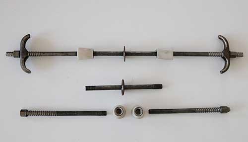 新型止水螺杆三段式