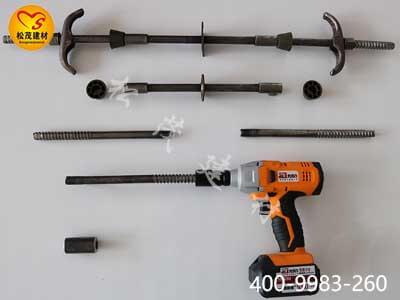 剪力墙比拟经常利用的三段式止水螺杆