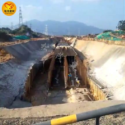 漳州某地下综合管廊止水螺杆施工中